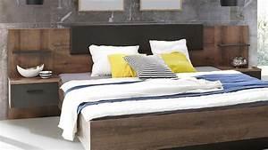 Schlafzimmerset CHILLY Schrank Bett Nako In Schlammeiche