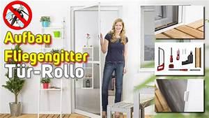 Fliegengitter Rollo Fenster : fliegengitter t r rollo montage video youtube ~ A.2002-acura-tl-radio.info Haus und Dekorationen