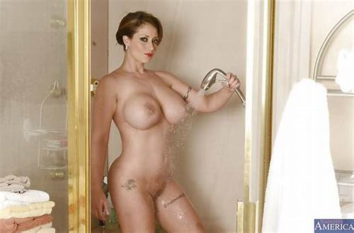 Old Printing Her Small Sexy Natural Busty #Ravishing #Milf #With #Big #Tits #Taking #Shower #And #Rubbing #Her