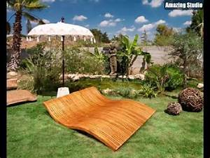 Loungemöbel Holz Outdoor : lounge m bel outdoor liegest hle aus holz youtube ~ Watch28wear.com Haus und Dekorationen