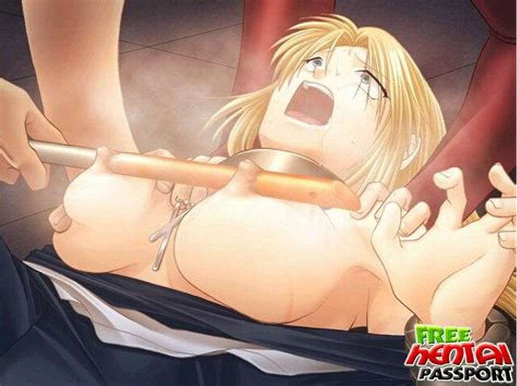 #Good #Looking #Busty #Blonde #Hentai #Chick #Fucked #By #Her