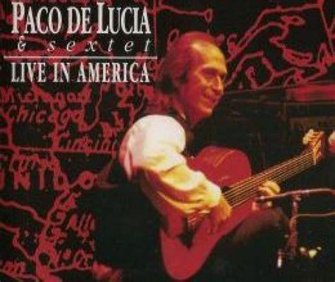 El profesor también se sentó y durante unos momentos escribió en unos libros. Paco de Lucía's 'Live in América' | Paco de lucia, Jorge ...
