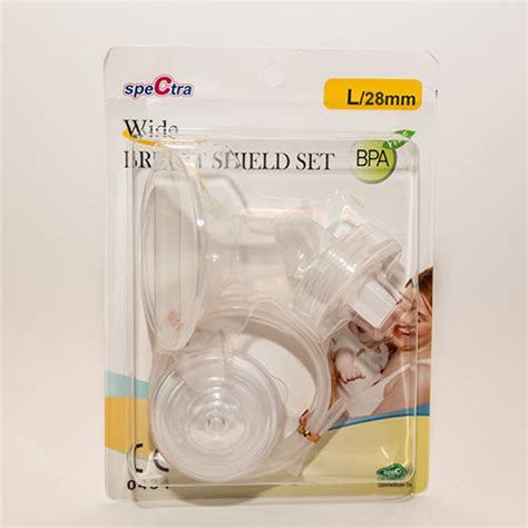 What vision insurance benefit do spectrum employees get? Spectra Wide Breast Shield Set (L/28Mm)