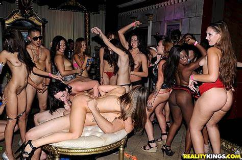 Orgy Fuckers At A Reality Impregnated Club 11