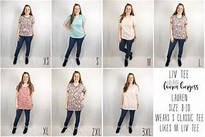 Lularoe Liv Tee Pricing Sizing On The Newest Release
