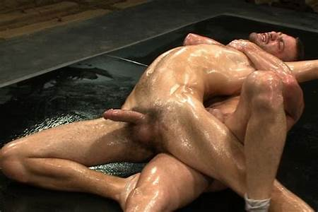 Wrestling Nude Oil Teen