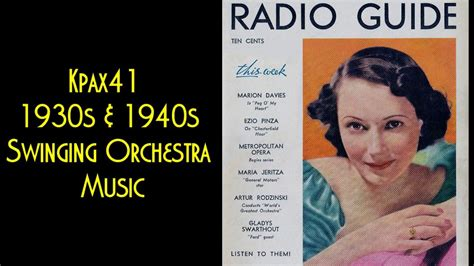 I've got my love to keep me warm 40. 1930s Big Band Swing Orchestra Music Of Mal Hallett @KPAX41   Orchestra, Music, Dance music