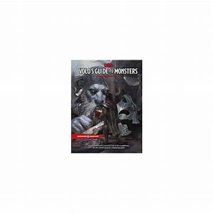 D U0026d 5th Edition Volos Guide To Monsters