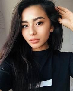 Outdoors beautiful asian teen babe
