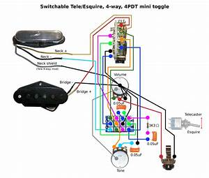 Bill Lawrence 5 Position Tele Swith Wiring Diagram