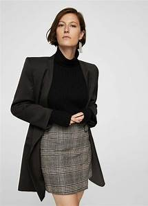 Vetement Femme Petite Taille : jupe carreaux en laine zara mode femme petite taille ~ Nature-et-papiers.com Idées de Décoration