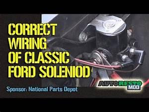 1964 Mustang Wiring Schematic : 1964 to 1970 ford solenoid wiring episode 245 autorestomod ~ A.2002-acura-tl-radio.info Haus und Dekorationen