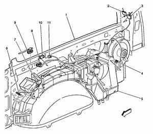 2001 Tahoe Rear Blower Motor Does Not Run  Rr Hvac Fuse