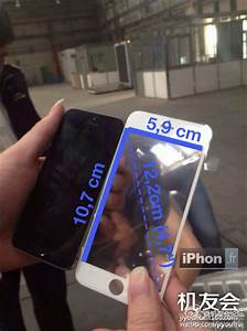 Alleged Iphone 6 Front Panel Leaks Compared To Iphone 5s