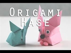 Origami Osterhase Faltanleitung Einfach : origami hase faltanleitung youtube ~ Watch28wear.com Haus und Dekorationen