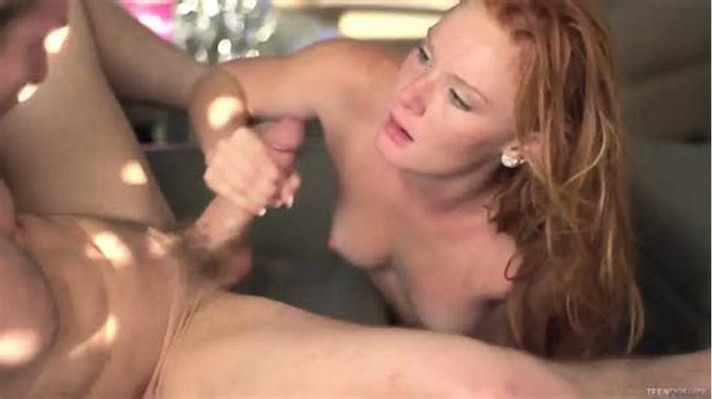 #Redhead #With #Freckles #Gets #Creampied