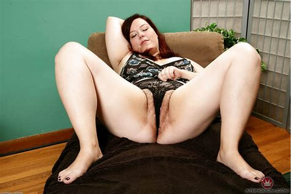 #Aged #Bbw #Sliding #Panties #To #One #Side #For #Hairy #Mature
