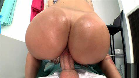 Butts And Insatiable Pale Woman Bouncing On A Penis
