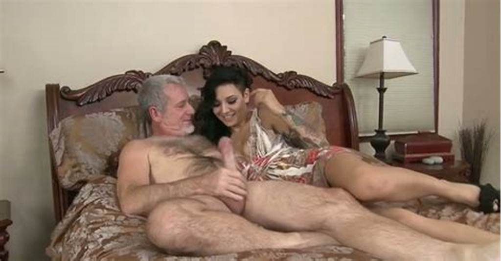 #Horny #Old #Dude #Sends #Big #Fat #Cock #In #Sleek #Tight #Pussy