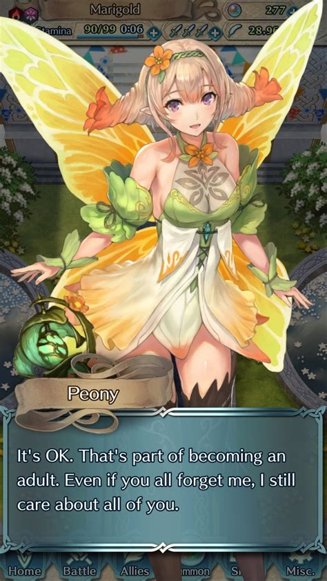 another tale lost to the world — Peony Lv 40 Conversation
