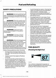 Regular Gas  87 Octane  For The 2 3l Ecoboost Confirmed