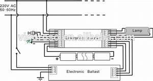 T8 L U00e2mpada Fluorescente De Emerg U00eancia Inversor