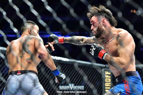 Makwan amirkhani is a ufc fighter from finland. Fight Photos : Makwan Amirkhani at UFC 244