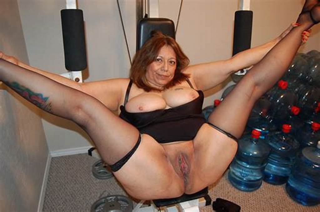 #Fat #Granny #In #Stockings