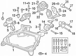 Ford Fusion Engine Cradle