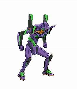 Evangelion Pixel Art Evangelion