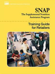 Snap Training Guide For Retailers