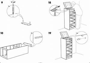 Ikea Malm Chest W 6drawers Mirror Assembly Instruction