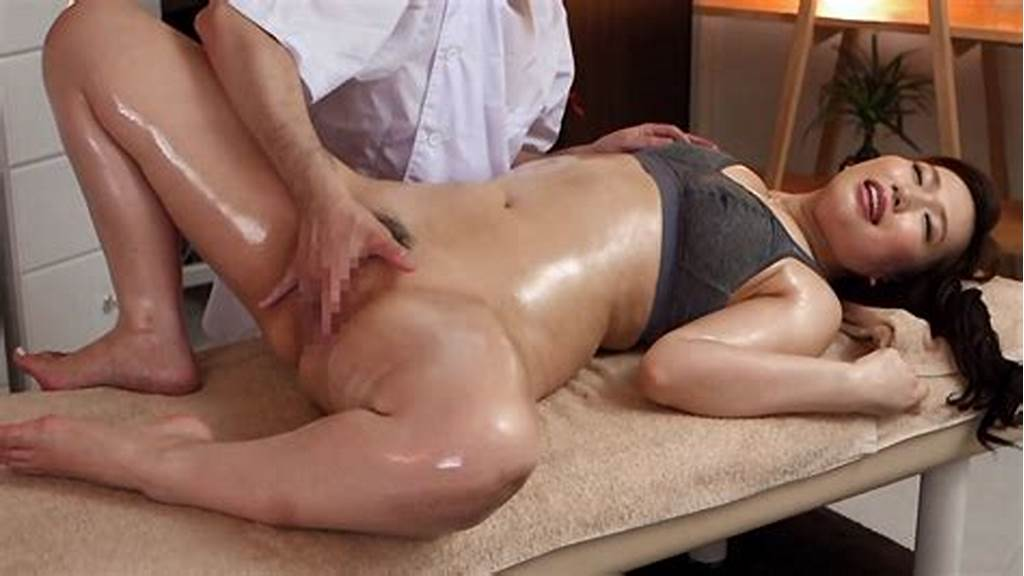#Ai #Sayama #In #Ai #Sayama #Gets #A #Full #Body #Massage