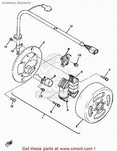 Yamaha Dt125 1978 Usa Flywheel Magneto