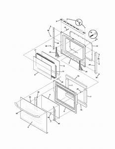 Kenmore 79047839404 Electric Wall Oven Parts