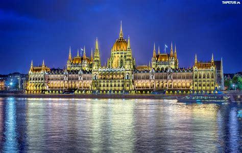 Wycieczki do budapesztu podróżowanie w europie. Rzeka, Dunaj, Zabytek, Parlament, Budapeszt, Węgry