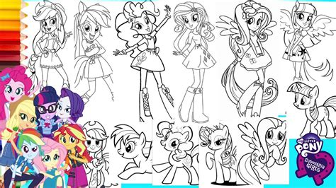 Check out inspiring examples of mylittlepony artwork on deviantart, and get inspired by our community of talented artists. Coloring My Little Pony & Equestria Girls COMPILATION - Mewarnai Kuda Poni - MLP Coloring Book ...