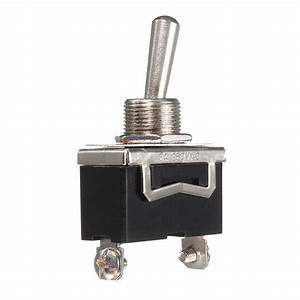 2020 Black Heavy Duty On  Off Spst Toggle Switch Flick