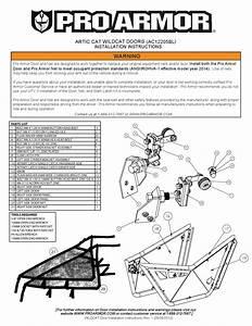 Wildcat Door Instructions By Pro Armor