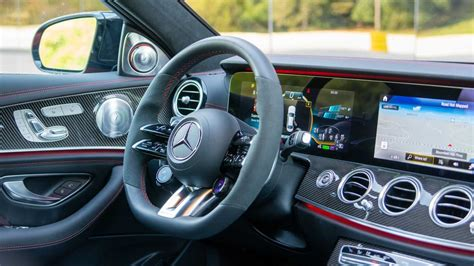 The s63 sees the replacem. 2021 Mercedes-AMG E53 Sedan interior - 5266310