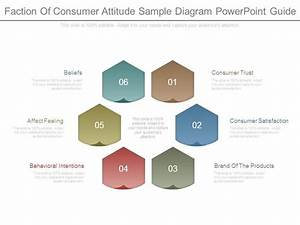 Faction Of Consumer Attitude Sample Diagram Powerpoint