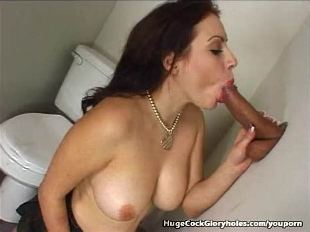 #Pretty #Brunette #Blowjob #And #Cumshot #At #Gloryhole