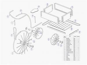 Garden Tricycle Plant Holder Plan
