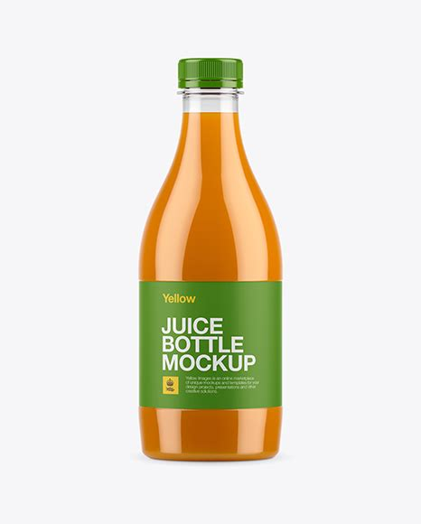 Bring the most popular material for your designs juice, milk, water — looks like we haven't missed anything, and you can complete your collection of plastic let the party begin! Plastic Apple Juice Bottle Mockup - Frosted Plastic Milk ...