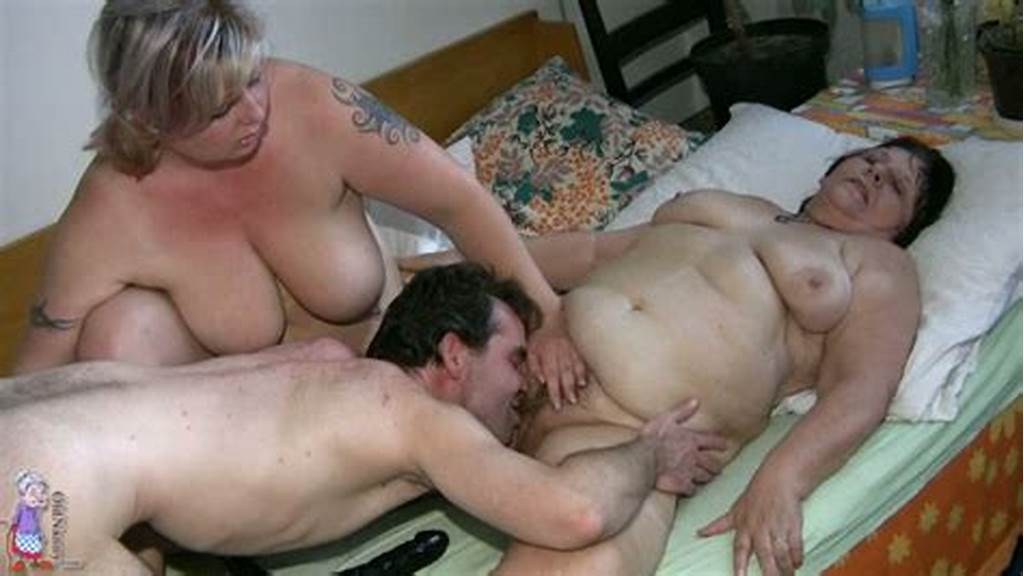 #Two #Busty #Fat #Grannies #Get #Wild #Fucking #In #Ffm #Threesome
