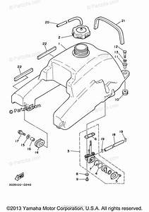 Yamaha Atv 2003 Oem Parts Diagram For Fuel Tank