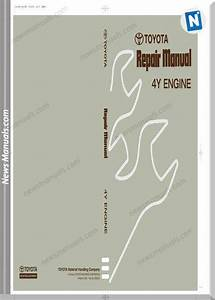 Toyota 4y Engine Model Repair Manual