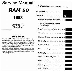 88 Dodge Truck Wiring Diagram