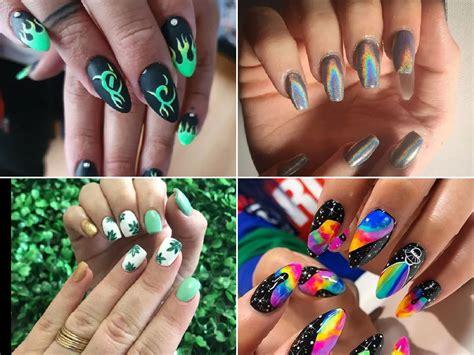 Inspírate en las alturas art déco de joyas. Cómo pintarse las uñas: Dibujos para pintar uñas 2021 - Tendenzias.com