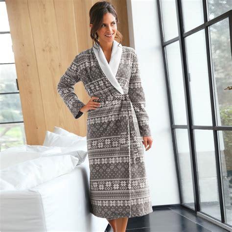 robe de chambre chaude femme peignoir polaire femme pourquoi en achetez un